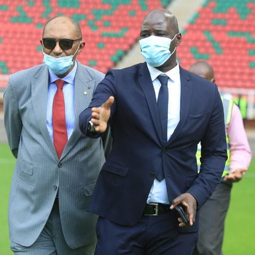CAMEROUN :: Visite du stade d'Olembé (images exclusives) :: CAMEROON