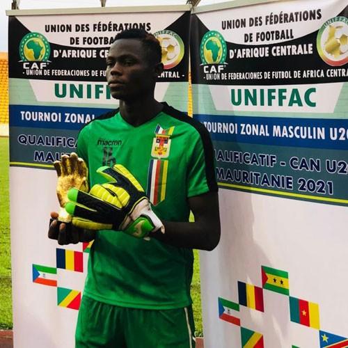 CENTRAFRIQUE :: Therance Stephane Zengba est sacré meilleur gardien :: CENTRAL AFRICAN