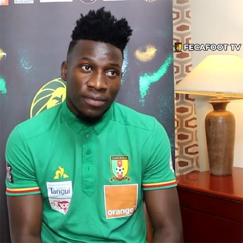 CAMEROUN :: André Onana explique pourquoi les lions ont mis leurs genoux au sol :: CAMEROON