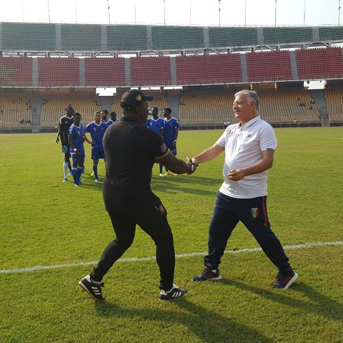 Cameroun 2-0 Tchad, Yves-Clément Arroga: «Il y a des insuffisances » :: CAMEROON