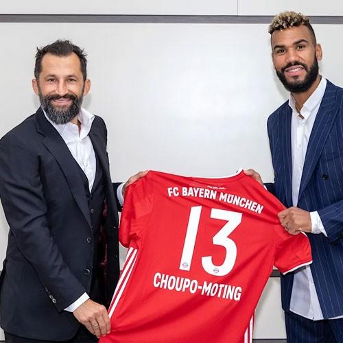 CAMEROUN :: Choupo-Moting s'est engagé au Bayern de Munich (photos) :: CAMEROON