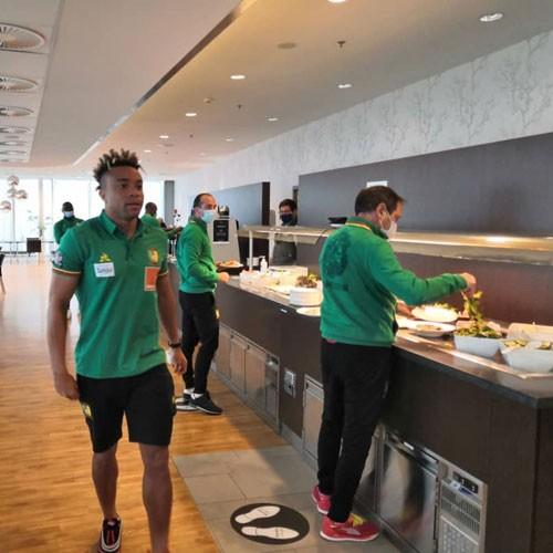 PAYS-BAS :: Japon Vs Cameroun: Voici la sélection en cage (images) :: NETHERLANDS