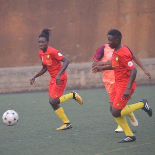 CAMEROUN :: U-17 dames: Les lionnes marchent sur Sao Tome :: CAMEROON