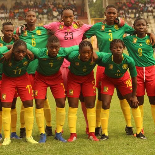 CAMEROUN :: LIONNES U17: 25 lionnes en cage :: CAMEROON