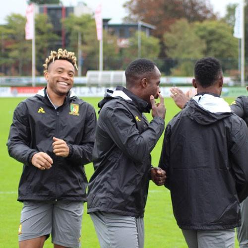 CAMEROUN :: Japon Vs Cameroun: Voici les images des lions à Utrecht :: CAMEROON