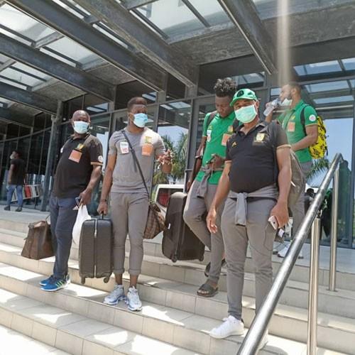 Mozambique 0-2 Cameroun : Les lions quitte Maputo à 12 h 30 (images) :: CAMEROON
