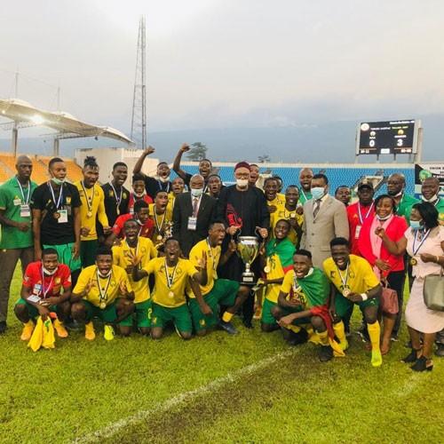 CAMEROUN :: RCA 0-3 Cameroun: Les lions U-20 champions d'Afrique centrale (images) :: CAMEROON