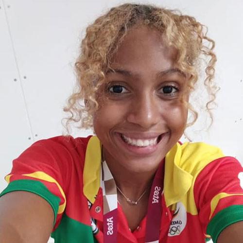 CAMEROUN :: MILANESI Norah Elisabeth: Une chance de médaille au JO :: CAMEROON