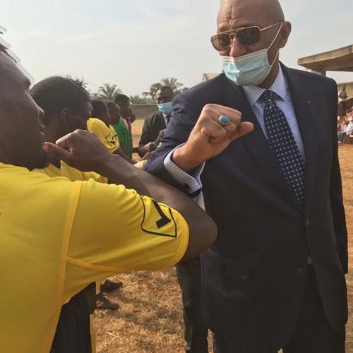 CAMEROUN :: Elections CAF: La candidature Seidou Mbombo Njoya suspendue :: CAMEROON