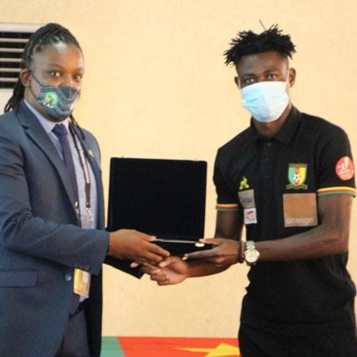 CAMEROUN :: CHAN 2021, JJ-2: BANGA BINDJEME II capitaine des lions A' :: CAMEROON