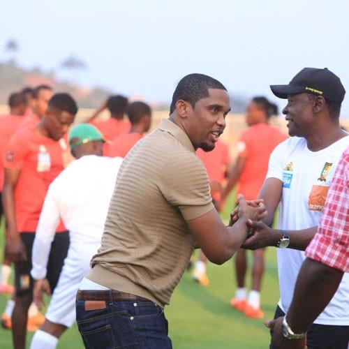 """CAMEROUN :: Chan, JJ-1, Samuel Eto'o: """"Chaque match est une finale"""" :: CAMEROON"""