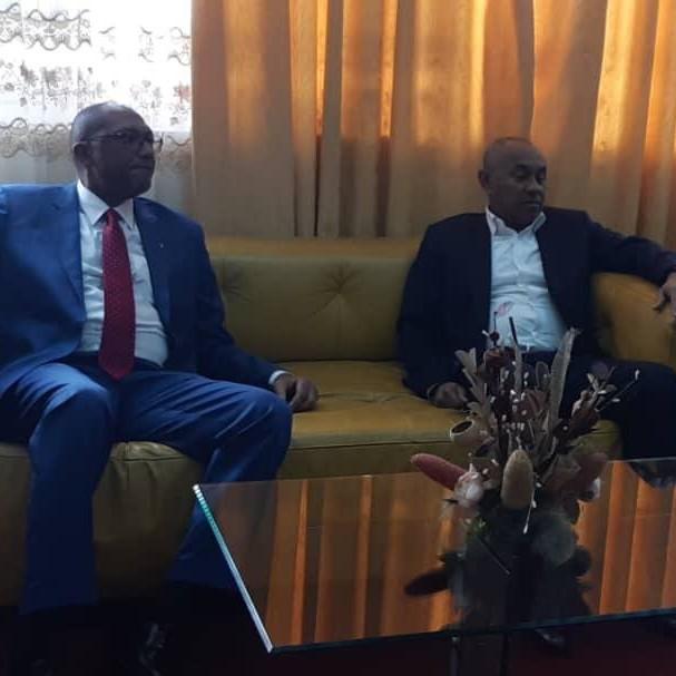 CAN 2021 : les coulisses de la visite d'Ahmad au Cameroun :: CAMEROON