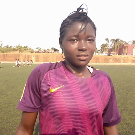 CAMEROUN :: Brenda Tabe : La locomotive des buteuses de Ligue 1 :: CAMEROON