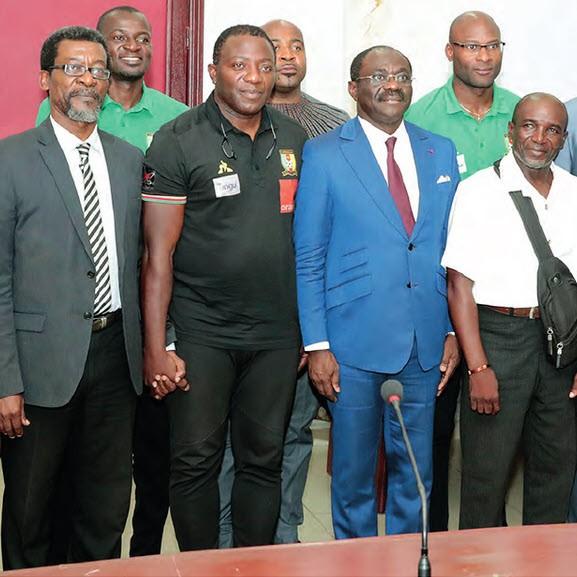 CAMEROUN :: Encadrement technique des Lions A' : Quatre missions assignées à l'équipe de supervision :: CAMEROON
