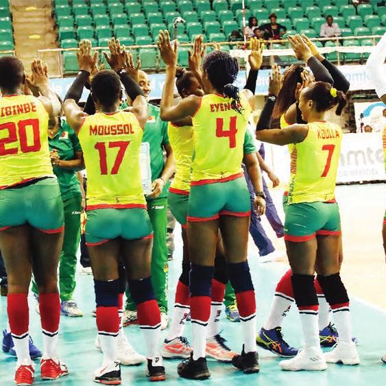 Volleyball Dames : Le Cameroun, 24e sur le plan mondial :: CAMEROON